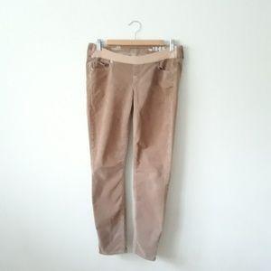 Gap Maternity Tan Corduroy Skinny Pants